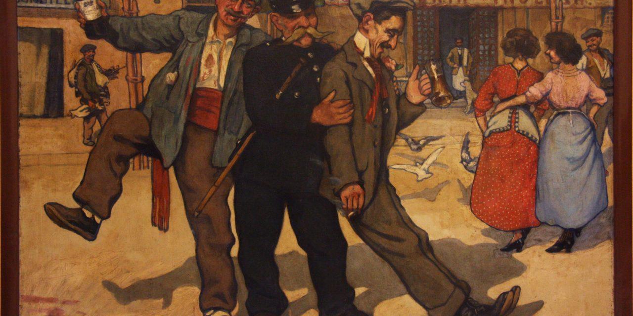 """Costumbres Jarreras (1890)"", de Enrique Paternina"