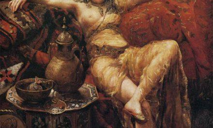 """Un Harén: la belleza"" (1889), de Francisco Masriera"
