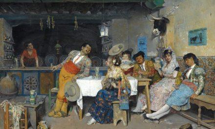 """""""Diversión en la taberna"""" (1873), de Francisco Peralta del Campo"""