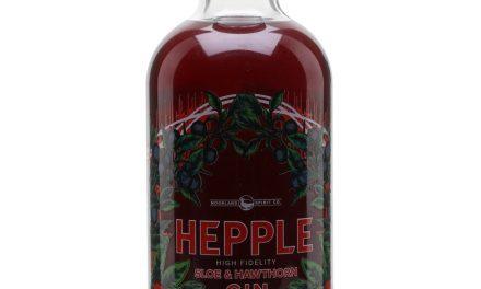 Hepple Sloe y Hawthorn Gin listos para el lanzamiento en el Reino Unido