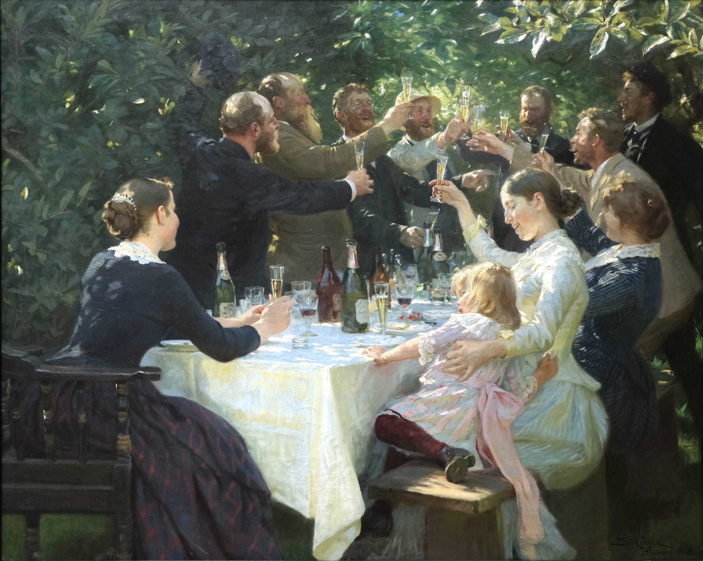 Hipp_hipp_hurra!_Konstnärsfest_på_Skagen_-_Peder_Severin_Krøyer