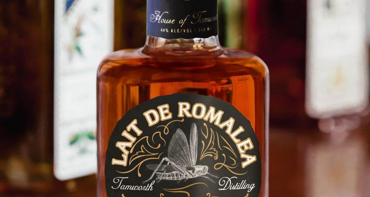 Lait de Romalea, un bourbon con infusión de secreción de saltamontes se lanza en EE.UU.