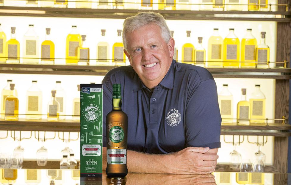 Colin Montgomerie y Darren Clarke lanzan los whiskies Loch Lomond