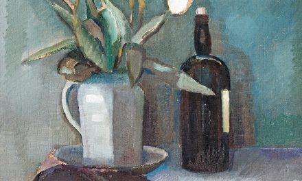 """""""Bodegón con tulipanes"""" (1940), de Ragnar Ekelund"""