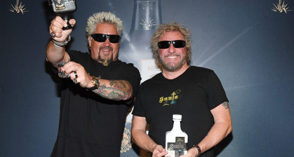 Sammy Hagar y Guy Fieri lanzarán el Tequila Santo Fino Blanco
