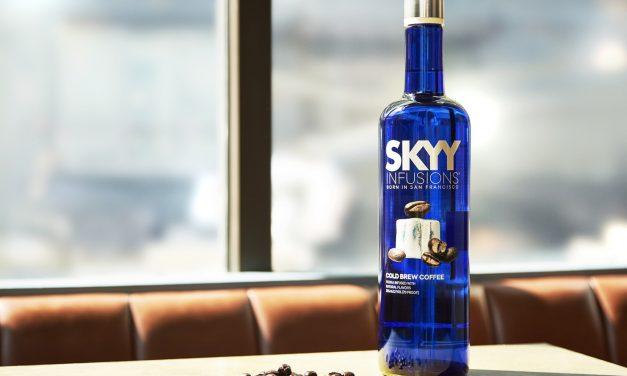 Skyy aprovecha la tendencia del café con un nuevo vodka de sabores, Skyy Infusions Cold Brew Coffee
