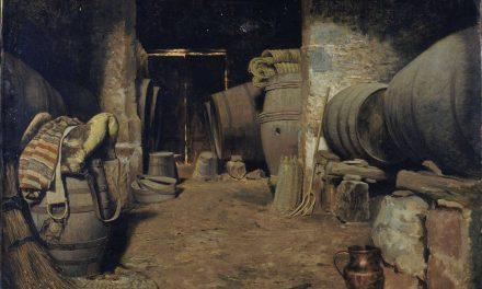 """""""Interior de bodega"""" (hacia 1871), de Tomás Moragas"""