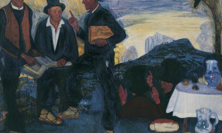 """""""Los intelectuales de mi aldea"""" (1912 – 1913), de Ramón de Zubiaurre"""