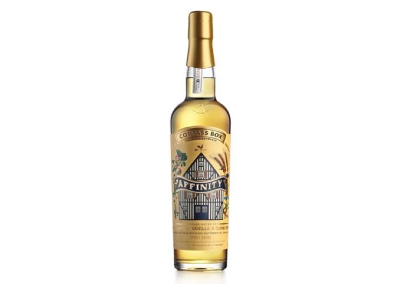 Compass Box Affinity, 'primera' mezcla de Calvados y Scotch