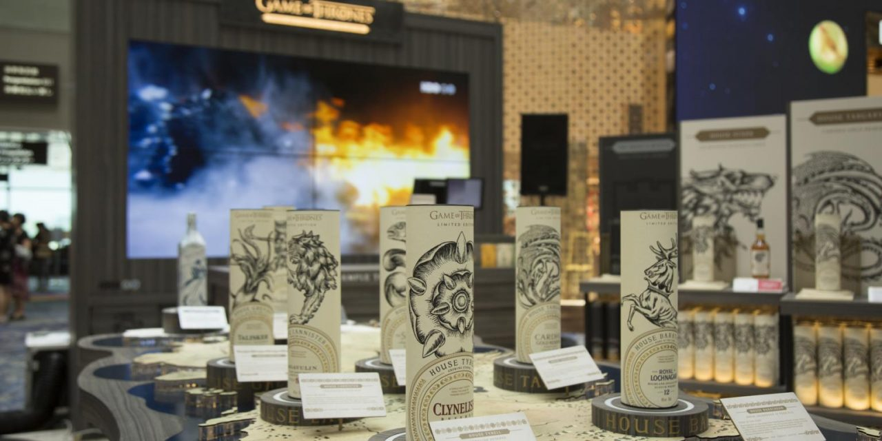 Diageo estrena activación de Game of Thrones en travel retail