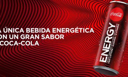 Coca-Cola crece con Coca-Cola Energy, la primera bebida energética de la marca Coca-Cola