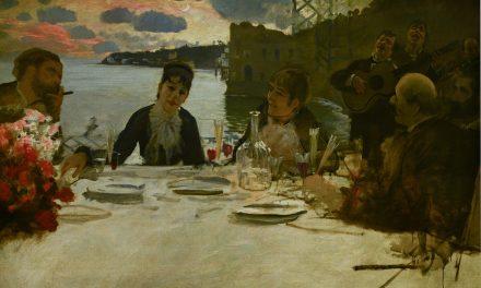 """""""Almuerzo en Posillipo"""" (1879), de Giuseppe De Nittis"""