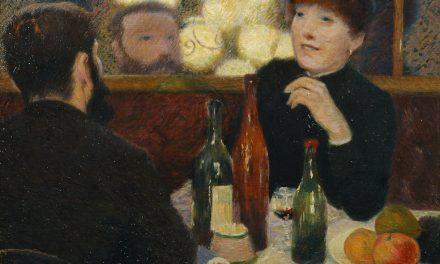 """Café Nuevo Atenas"" (1869), de Federico Zandomeneghi"