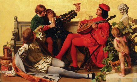 """""""Una celebración"""" (1868), de Anton von Werner"""