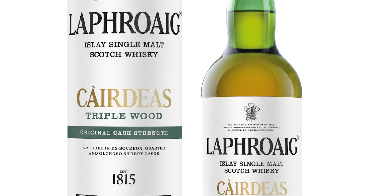 Laphroaig lanza Càirdeas Triple Wood Cask Strength