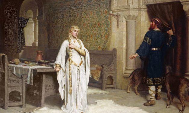 """""""Detalle de Lady Godiva"""" (1892), de Edmund Blair Leighton"""