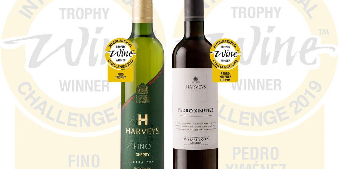 Harveys obtiene el mayor galardón del International Wine Challenge 2019 en las categorías Fino y Pedro Ximénez