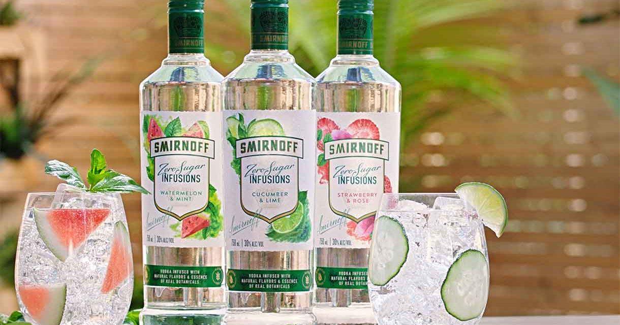 Smirnoff Zero Sugar Infusions ya está a la venta en EEUU