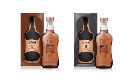 Jura presenta dos nuevos whiskys con Tide y Time 21