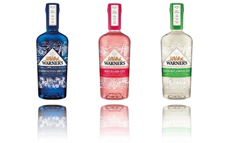 Warner's gin entra en un nuevo capítulo con un nuevo diseño