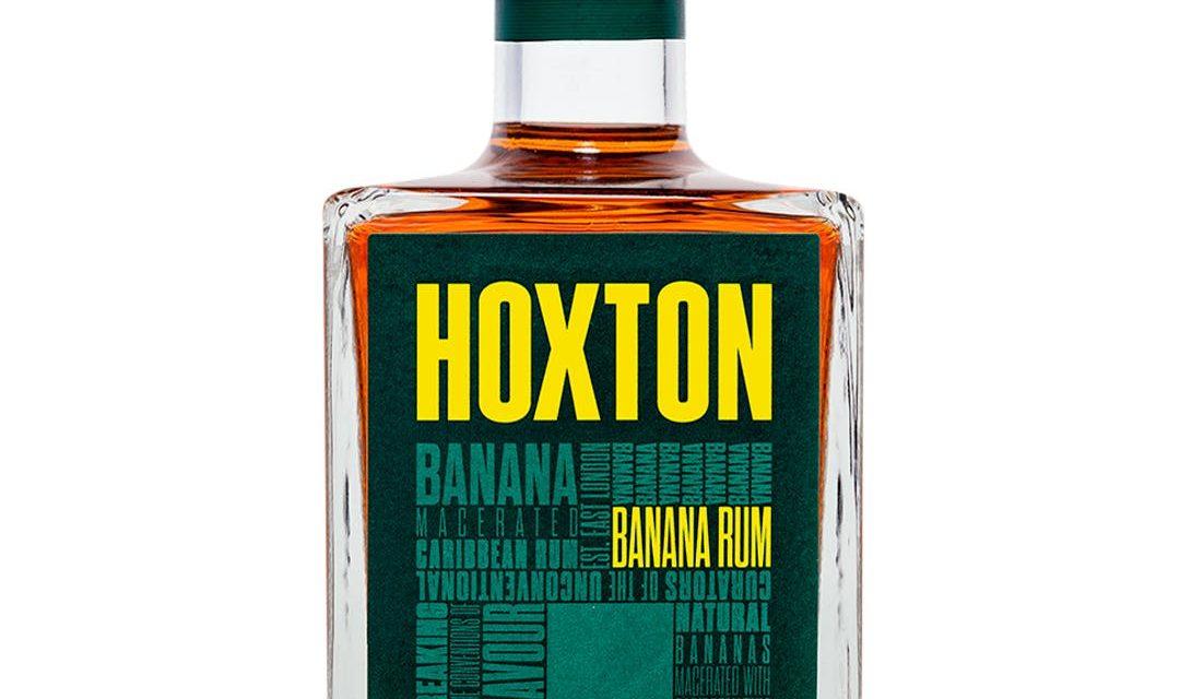 Hoxton Spirits embotella ron con sabor a plátano, Hoxton Banana