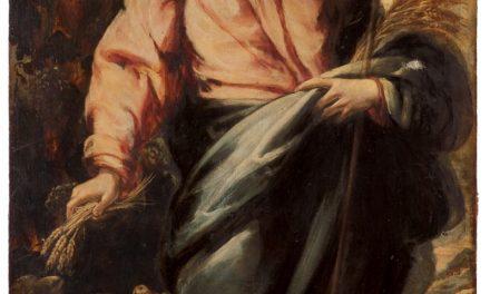"""El Buen Pastor"" (1693), de Pedro Ruiz González"