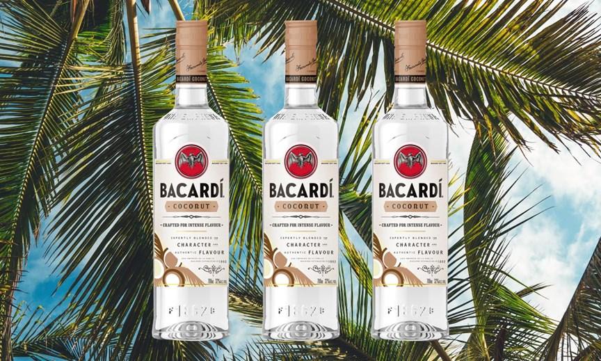 Bacardi expande sus sabores con ron de coco, Bacardi Coconut