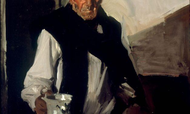"""""""Bebedor vasco"""" (1910), de Joaquín Sorolla y Bastida"""