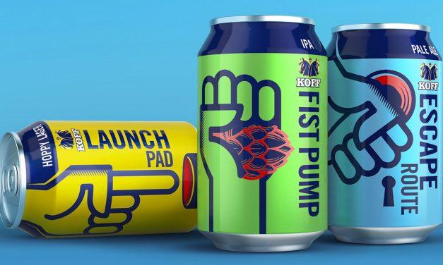 Bluemarlin rediseña cervezas artesanales finlandesas Koff