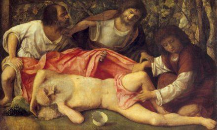"""""""La Embriaguez de Noé"""" (1515), de Giovanni Bellini"""