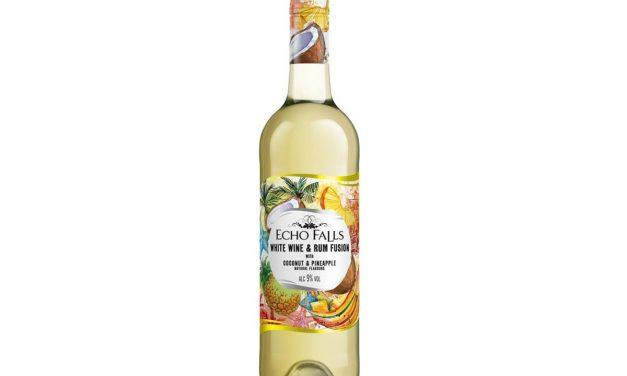 Echo Falls lanza fusión de vino y ron con Echo Falls White Wine and Coconut Rum Fusion