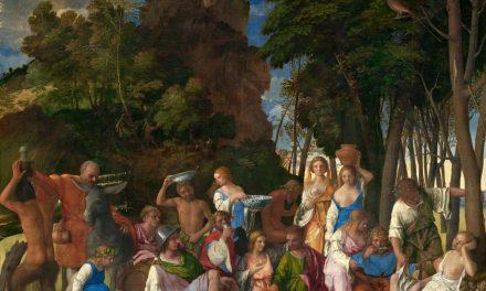 """""""El festín de los dioses"""" (1514), de Giovanni Bellini"""