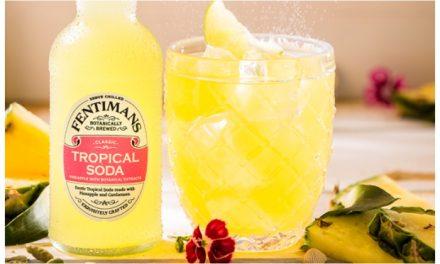 Fentimans añade un nuevo mixer específico para ron, Tropical Soda