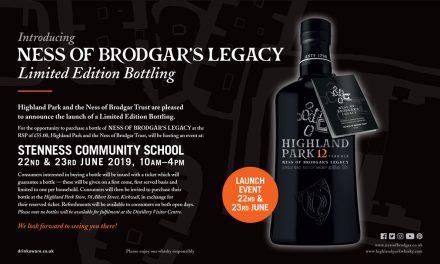 Highland Park lanza su edición limitada Ness of Brodgar's Legacy
