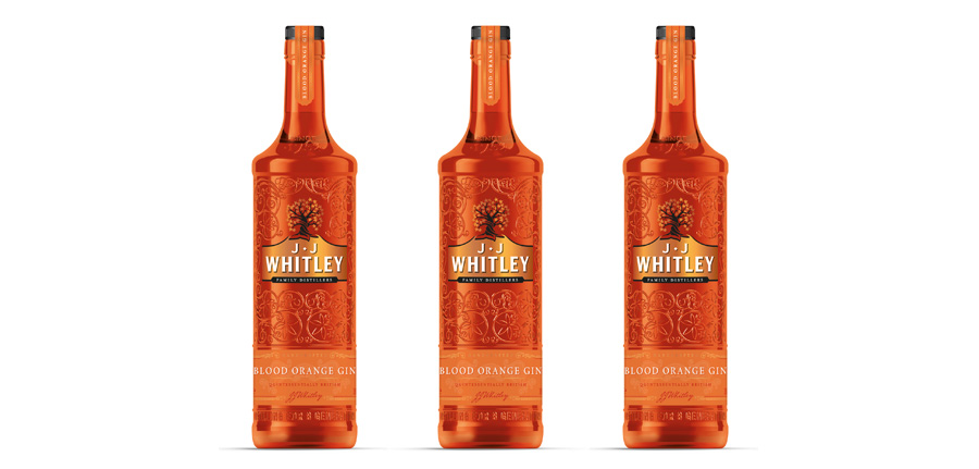 JJ Whitley lanza su nueva ginebra de naranja sanguina con Blood Orange Gin