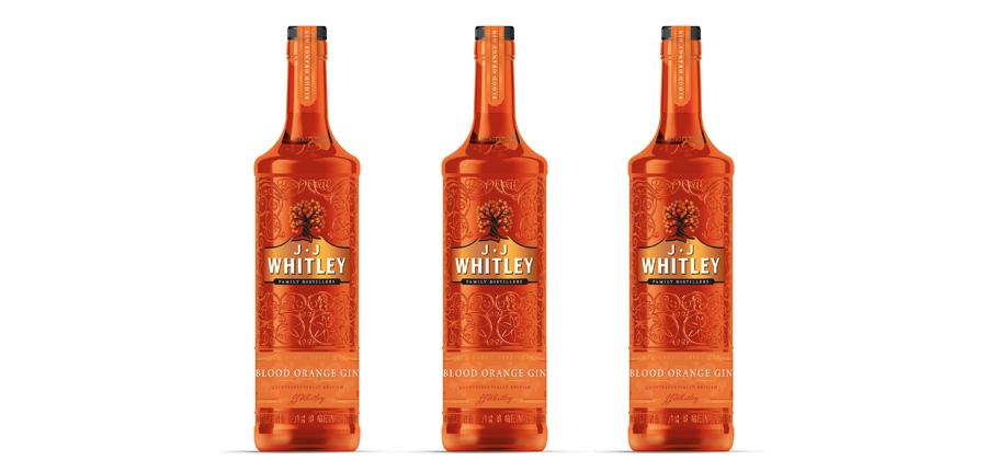 JJ Whitley lanza su nueva ginebra de naranja sanguina con Blood Orange Gin