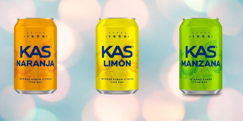KAS renueva la imagen de todo su portafolio (Naranja, limón y Manzana)