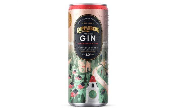 Kopparberg lanza RTD con Kopparberg Premium Gin & Lemonade