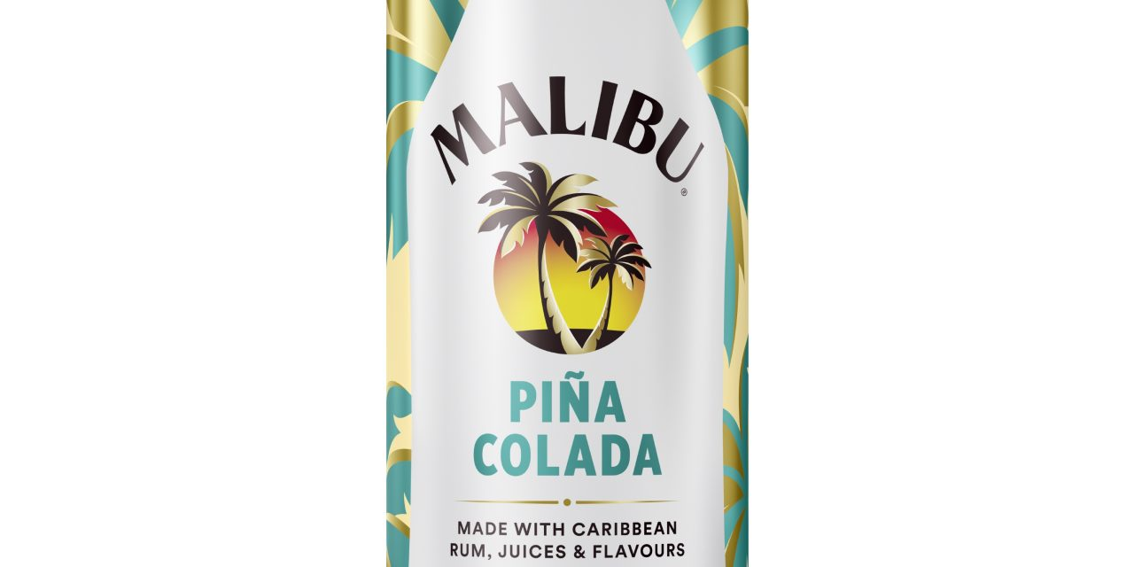 Malibu lanza su clásico zumo dulce de piña y crema de coco en formato lata
