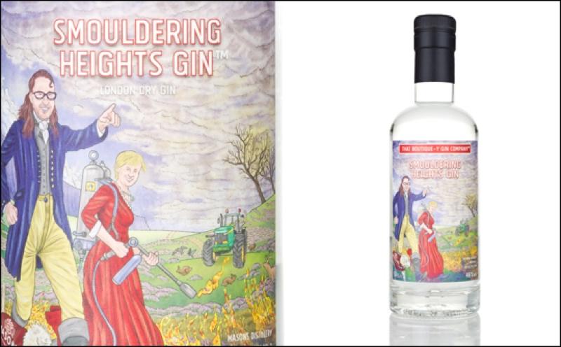 Boutique-y Gin lanza el embotellado 'ahumado' Smouldering Heights