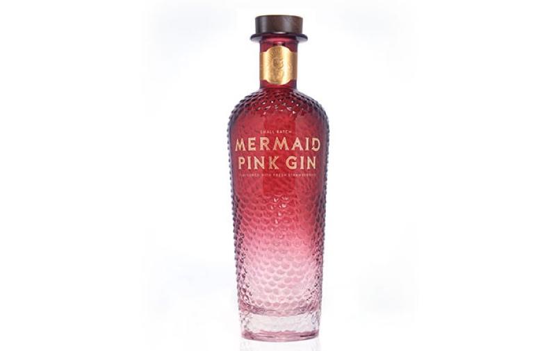 Mermaid Gin pasa a ser rosa con su nueva ginebra, Mermaid Pink Gin