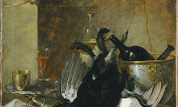 """Naturaleza muerta"" (1753), de Pehr Hilleström"