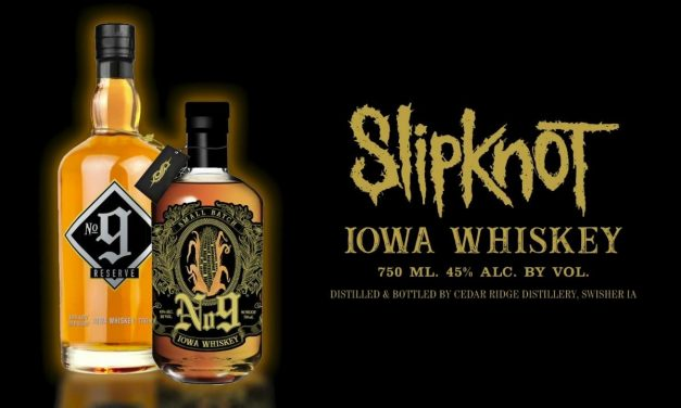 Slipknot lanza whisky de la granja a la mesa con No 9 Iowa Whiskey