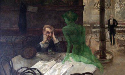 """""""El bebedor de absenta"""" (1901), de Viktor Oliva"""