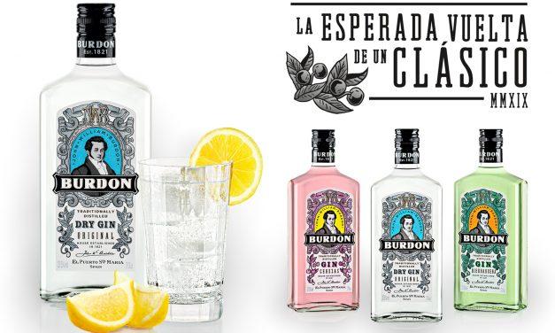 Caballero da vida a una ginebra legendaria: Burdon Gin