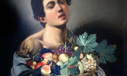 """""""Niño con un cesto de frutas"""" (1593), de Caravaggio"""