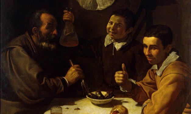 """""""El almuerzo"""" (1617-1618), de Diego Velázquez"""