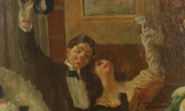 """""""El festejo"""" (1892), de Aleardo Villa"""