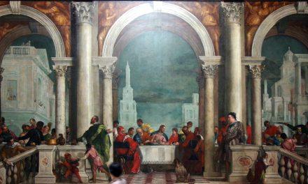 """""""Cena en casa de Leví"""" (1573), de Paolo Veronese"""