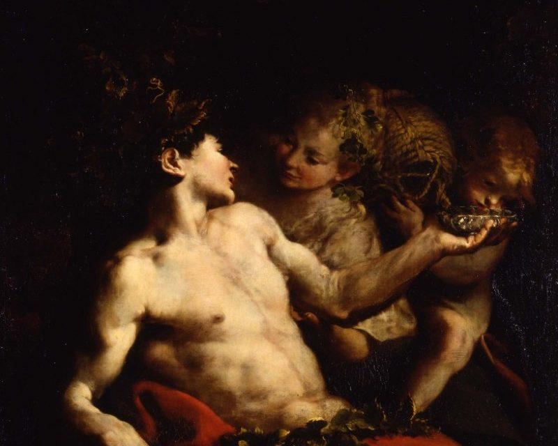 """Baco"" (1688), de Bartolomeo Guidobono"